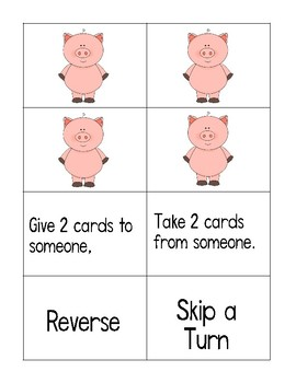 Don't Pick the Pig OY & OI words