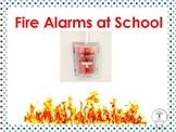 Don't Pull the Fire Alarm at School Social Script