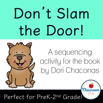 Don't Slam the Door! Sequencing Mat