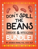 Don't Spill The Beans! Learning Game - Language & Articula