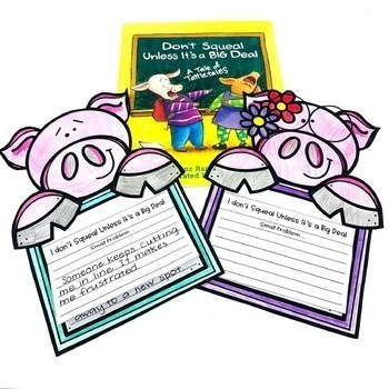 Don't Squeal Unless It's a Big Deal Guided Reading Problem and Solution