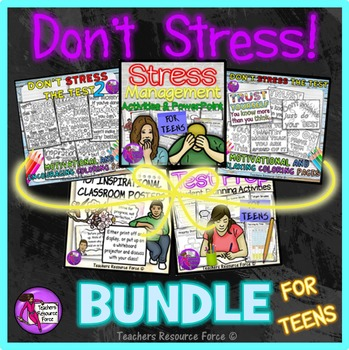Stress Relief Activities Bundle!