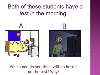 Don't Stress! It's Just a Test! (PowerPoint)
