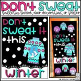 Don't Sweat It Ugly Christmas Sweater Bulletin Board, Door