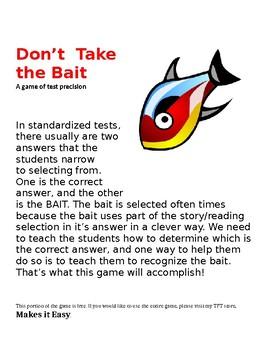 Don't Take the Bait - FREE