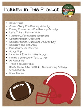 Don't Throw it to Mo! by Adler 16 Book Extension Activities NO PREP