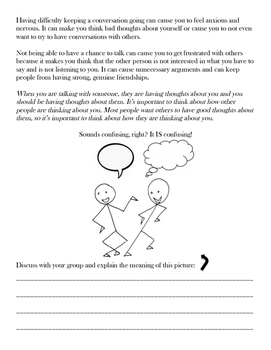 Don't Tip the Talking Scale! A Social Skills Activity