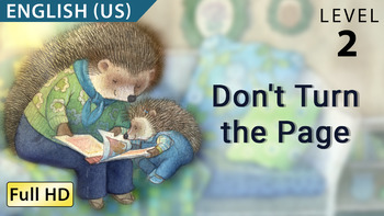 Don't Turn the Page : Animated story in  English (US) with subtitles