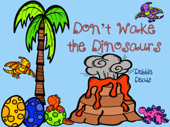 Don't Wake the Dinosaurs Addition Fluency Centers