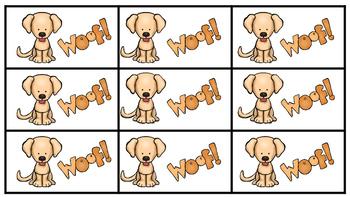 Don't Wake the Doggie Alphabet Fluency