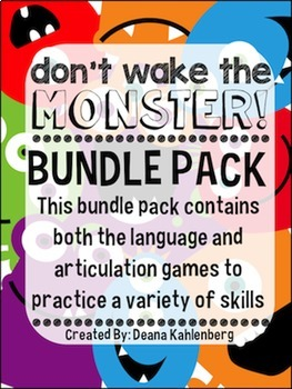 Don't Wake the Monster {BUNDLE PACK}