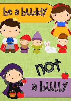 Don't be a Bully - Princess Theme