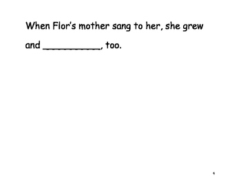 "Dona Flor ""Fill in the Blank"" Reader"