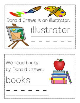 Donald Crews mini-book