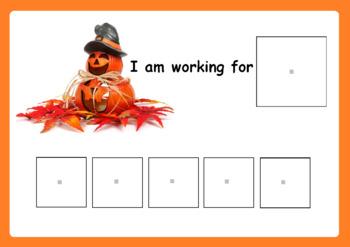 Halloween Token Reward Board - Autism and Special Ed Resource