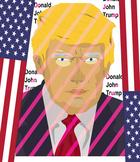 Donald John Trump, Statue of Liberty ... American Symbols