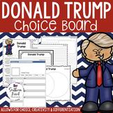 US Presidents - Donald Trump Choice Board