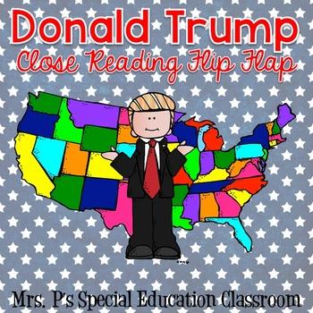 Donald Trump Close Reading Flip Flap