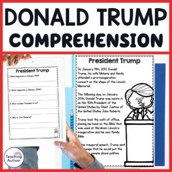Donald Trump Reading Comprehension Passages And Questions
