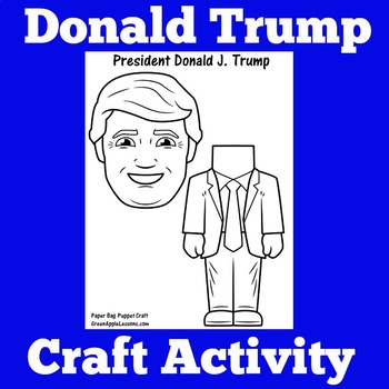 Donald Trump Craft Activity