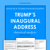 Donald Trump's Inaugural Address: Reading Comprehension Worksheet