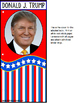 Donald Trump President of the United States ADAPTED BOOK for Autism