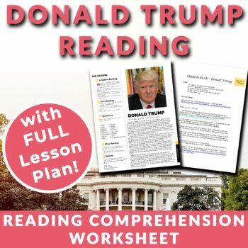 Donald Trump - Readings & Activities w/ Lesson Plan