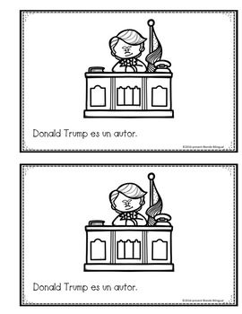 Donald Trump: Un librito en español ~ Spanish mini book