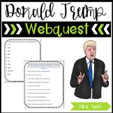 Donald Trump Webquest