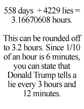Donald Trump has told 4,229 lies in 558 days.
