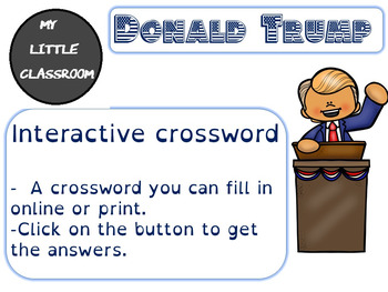 Donald Trump's familly: An interactive crossword.