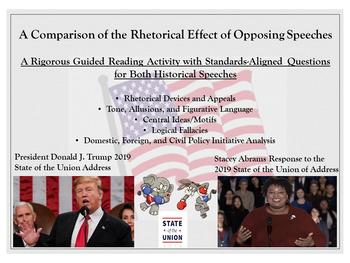 Donald Trump vs. Stacey Abrams - A Rhetorical Comparison - State of the Union