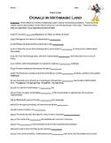 Donald in Mathmagic Land Video Worksheet