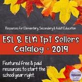 Donald's English Classroom  - ESL and ELA Sellers Catalog