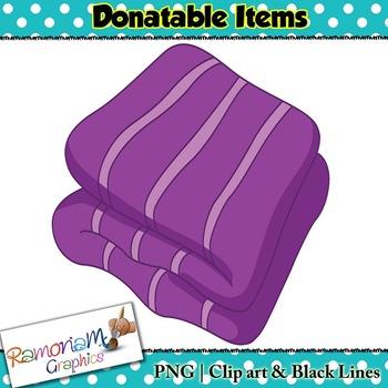 Donatable Items Clip art