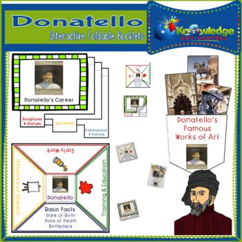 Donatello Interactive Foldable Booklets