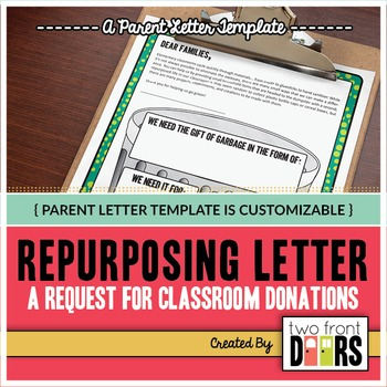 Repurposing: A Letter to Parents