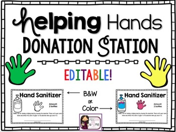 Donation Station - Editable