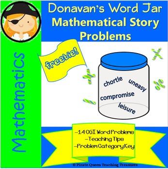 Donavan's Mathematical Word Problems/CGI Designed