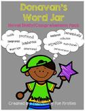 Donavan's Word Jar - Novel Study/Comprehension Pack