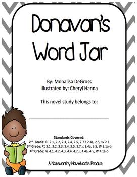 Donavan's Word Jar Novel Study / Key