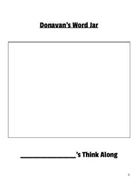 Donavan's Word Jar Think Along