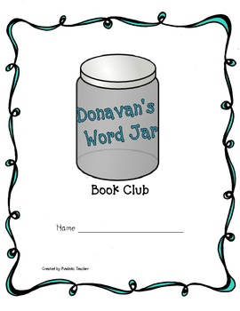 Donavan's Word Jar Book Club