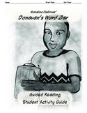 Donavan's Word Jar Guided Reading Guide