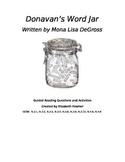 Donavan's Word Jar Guided Reading/Literature Circle Comprehension Questions