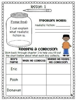 Donavan's Word Jar: Novel Study {Common Core and Word Study Focus}
