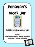 Donavan's Word Jar - Supplemental Materials