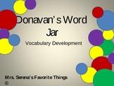 Donavan's Word Jar Vocabulary Development Powerpoint