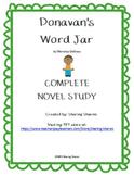 Donavan's Word Jar by Monalissa DeGross - Complete Novel Study