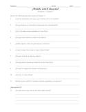 Donde Esta Eduardo Activities Chapters 1 - 6
